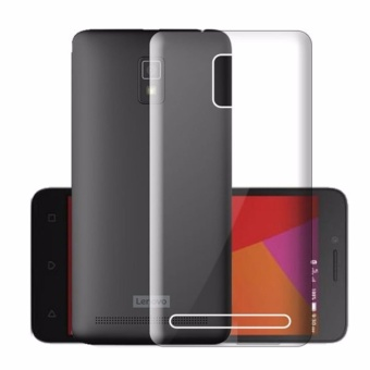 Icantiq Ultrathin Case Lenovo A6600 Luxury Softcase Anti Jamur Air Case 0.3mm / Silicone Lenovo A6600 Soft Case / Silikon / Case Hp / Jelly Case / Softshell - Putih Transparant