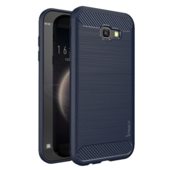 iCase iPaky Carbon Shockproof Hybrid Case for Samsung Galaxy A7 2017 SM-A720