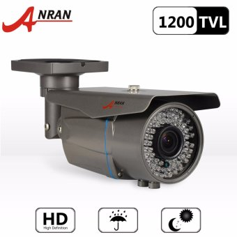 Harga ANRAN AR-C01M-VGB721 1200tvl High Resolution Color Day Night Vision Security Waterproof Outdoor/ Indoor Bullet CCTV Camera