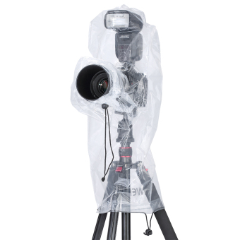 Harga Neewer Rain Cover Rainproof Camera Protector for Digital SLR Camera and Lens (Clear) - Intl