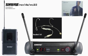 Harga Microphone Mic Wireless Shure Pgx 14e/93