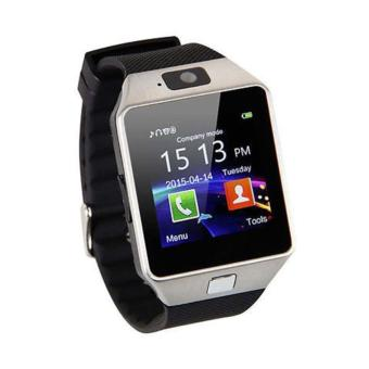 Harga Onix Smartwatch U9-DZ09 Support SIM and Memory Card - Silver Black