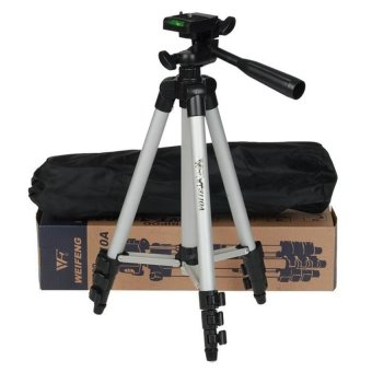 Harga Weifeng WT3110 Portable Tripod Stand 4 Section - Aluminium Legs