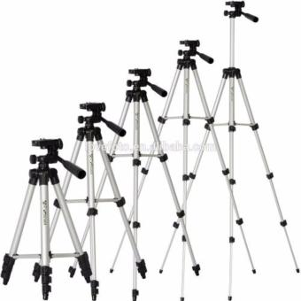 Harga Weifeng Portable Tripod Stand 4-Section Aluminum Legs With Brace - WT-3110A