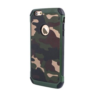 Harga Case Army Protection for Apple iPhone 6 / 6s - Hijau Army