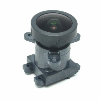 Harga Original Lens Replacement with Lens Dock for Xiaomi Yi - Black