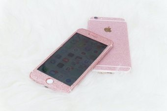 Harga Glitter Skin Case For iPhone 6 Plus / 6s Plus - BabyPink
