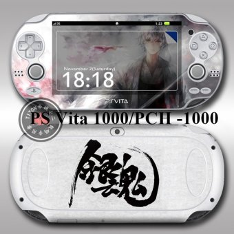 Harga skin sticker vinyl pain decal anime for ps vita 1000 GINTAMA - Intl