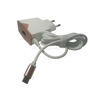 Harga Adaptor Charger Rumah - Home Charger - Power Adapter USB 2.1A - Rose Gold