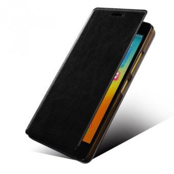 Harga MOFI Soft Leather Flipcase Original For Lenovo P1 Turbo / Lenovo p1 - Hitam