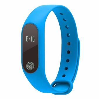 Harga M2 Smart Bracelet Heart Rate Monitor Bluetooth Smartband Health Fitness Tracker Smart Band Wristband for Android iOS - intl