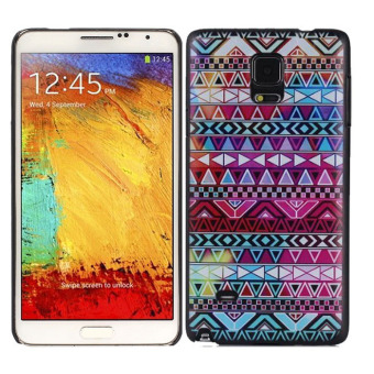 Harga Aztec Tribal Pattern Floral Case For Samsung Galaxy Note 4 N9100