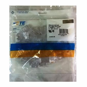 Harga AMP - Connector RJ45 Cat 5E Original - Isi 50