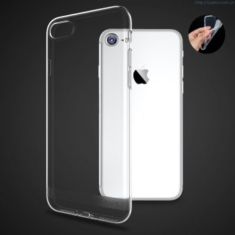 Harga Original Ultra Thin Case for Iphone 7- Putih Transparant