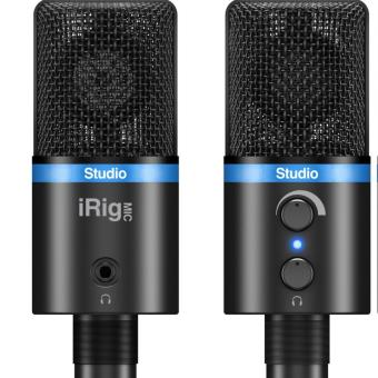 Harga Ik Multimedia IRig Mic Studio Black