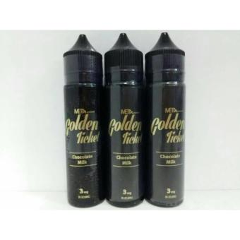 Harga Golden ticket tiket USA premium liquid 60ml vape vapor