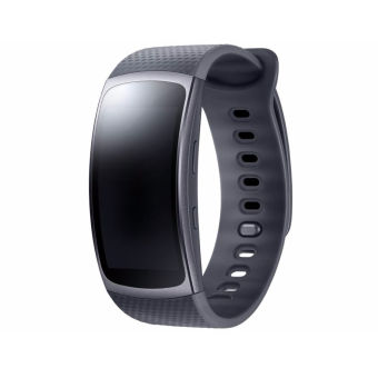 Harga Samsung Gear Fit2 SM-R360 GPS Sports Smart Band Fitness Watch Activity Tracker ( Black-Large)