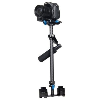 Harga YELANGU S60T 60cm Carbon Fiber Handheld Stabilizer for DSLR Camera DV (Black)