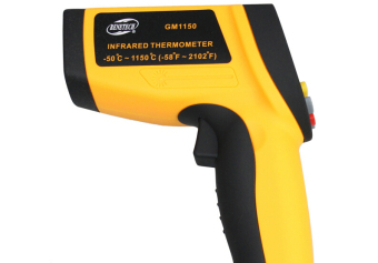 Harga GM1150 Non-Contact Laser LCD Display Infrared Thermometer Digital Temperature Meter Gun Point -50~1150 Degree