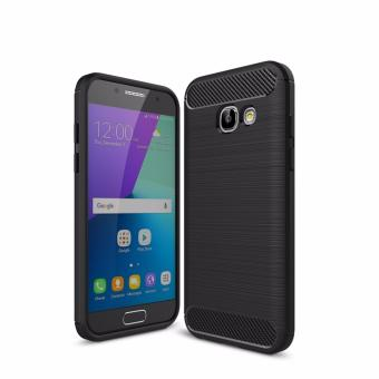 Harga Samsung Galaxy A3 2017 XCASE Slim Rugged Case-Black Carbon