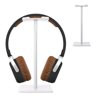 Harga NEW BEE Simple Style Headphone Stand Mount for Universal Headsets (Silver)