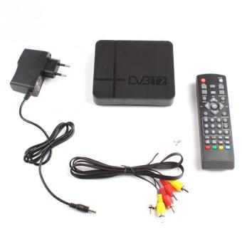 Harga BUYINCOINS HD 1080P Digital DVB-T2 TV Set-top Box Terrestrial Receiver USB for TV HDTV - Intl