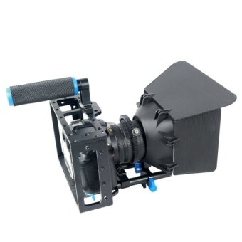 Harga YELANGU YLG1103A-C pegangan kamera Video kandang stabilisator + mate Kotak Kit untuk DSLR kamera/kamera Video - International