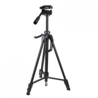 Harga Weifeng Portable Lightweight Tripod Stand Max Height 1.5m - WT-3730 - Black