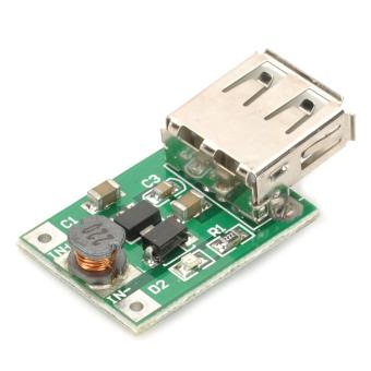 USB DC 1~5V to DC 5V Voltage Step Up Boost Module (Green)
