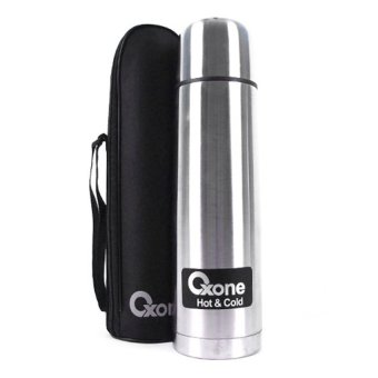 Harga Oxone Vacum Flask - 1 L - Stainless Steel OX-1.0