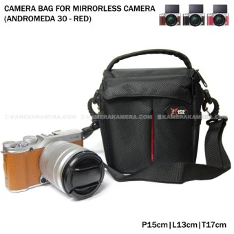 Harga Camera Bag for Mirrorless Camera - Andromeda 30 (Red) for FujiFilm X-A3, X-A2, X-T10, Canon EOS M10, EOS M3, Sony @6000, @5000, Etc