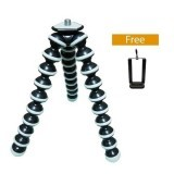 Harga G-Smart Gorilla Pod Tripod Medium - Hitam List Putih