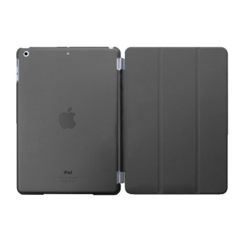 Harga Welink Detachable Smart Cover + Slim Transparent Back Case for Apple iPad air 2 / iPad Pro (9.7) and Diamond Screen protector (Black) - intl