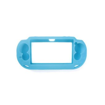 Harga Allwin Blue Soft Silicone Skin Protector Cover Case for Sony PS Vita Console PSP