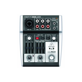 Harga Behringer XENYX 302USB - 5 Channel Compact Mixer dan USB Interface