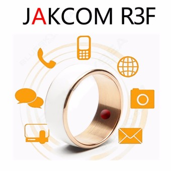 Harga JAKCOM R3F White Magic Wearable Smart Ring For Android WP Mobile Phone With NFC Size 7 - intl