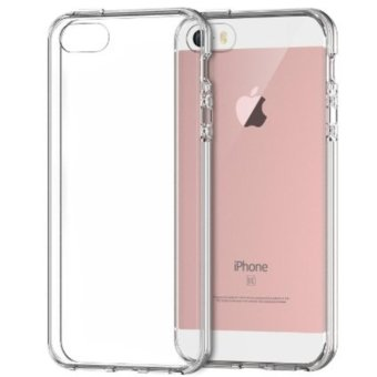 Harga Case Anticrack Case / Anti Crack Case / Anti Shock Case for iPhone 5 / 5S - Fuze / Fyber - Clear