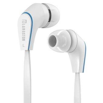 Harga Langsdom - Langston Earphone Hansfree Headset Stereo Super Bass With Mic Remote Control For Samsung Xiaomi Oppo JM12