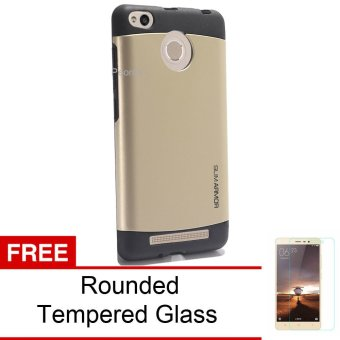Case Transformer Armor Shockproof With Stand Oppo Neo 9 (A37) FREE Tempered Glass -