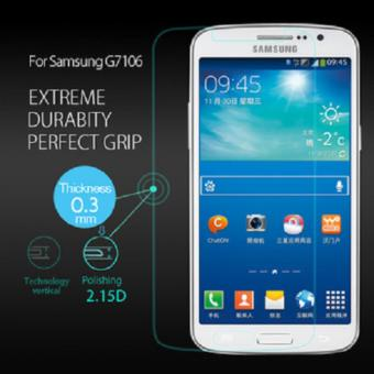 Tempered Glass Samsung Grand 2 G7105 Anti Gores Kaca Screen Guard .