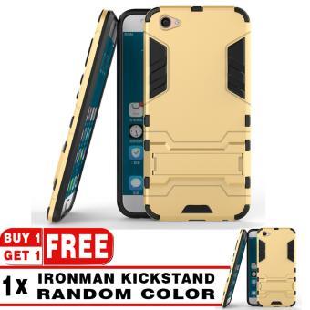 ... Oppo F3 Plus Grey Free Iring Procase Shield Rugged Kickstand Armor Iron Man Pc Tpu Back