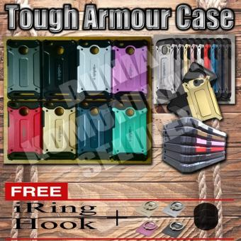 Harga Elegant Case Iron Tough Armour Xiaomi Mi Max - Biru + Gratis Iring + Hook