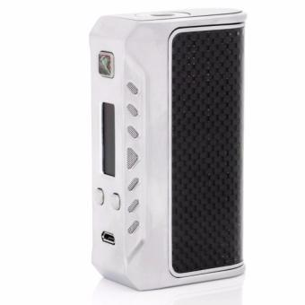 Harga Think Vape Finder DNA 75 TC Mod 75W [Authentic] - SILVER/BLACK CARBON