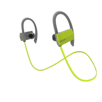 Harga Sports Bluetooth Headphones IPX4 Anti-water In Ear Wireless Headset Hands Free Earphone With Microphone For Running (Green) - intl