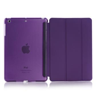 Harga Welink 2 in 1 iPad Air 2 / iPad Pro (9.7) case , Tempered Glass + Ultra Slim Smart Cover PU Leather Case for Apple iPad Air 2 / iPad Pro (9.7) (Purple)