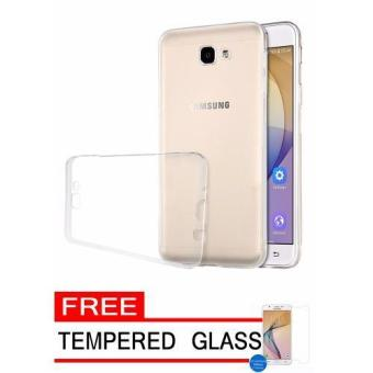 ... Gerai Softcase Silicon Ultrathin for Samsung Galaxy J7 Prime Putih Clear Free Tempered Glass