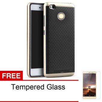 Case Flip Leather Cover For Xiaomi Redmi Note1 Pink Gratis Tempered Source · Case untuk Xiaomi Redmi 3 Pro Neo Hybrid Series Emas Gratis Tempered Glass