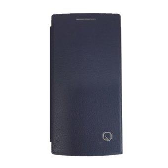 Oppo Book Cover For Oppo Find 5 Mini (827) - Biru-Tua