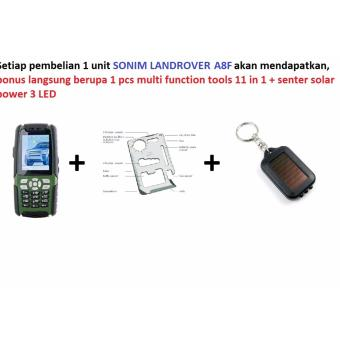 Harga HP Outdoor LandRover Sonim A8F HIJAU HP WALKIE TALKIE + TV + RADIO + Dual SIM + Dual ON - Green Hijau Free nonton TV dan dengar RADIO+ walkie talkie gratis selamanya