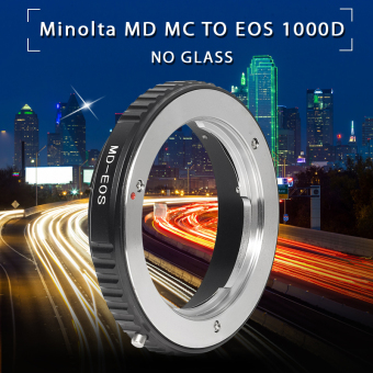 Harga Mount Adapter For Minolta MD MC Lens to Canon EOS EF 7D 60D 70D 600D 700D